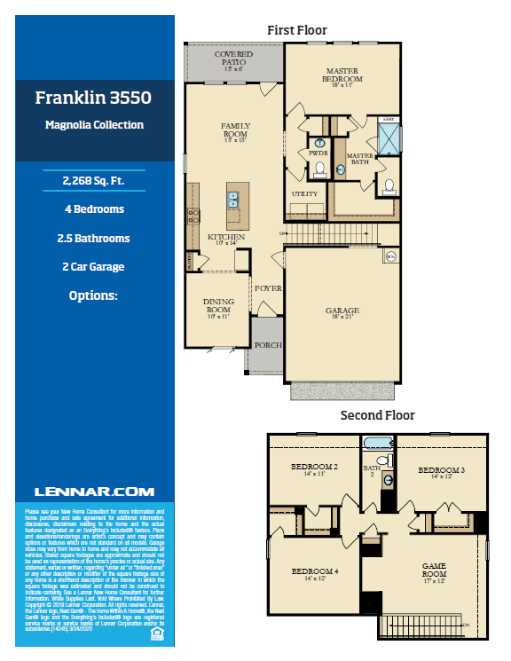 New Home know it all Franklin-Floor-Plan-1 Magnolia Collection Floor Plans